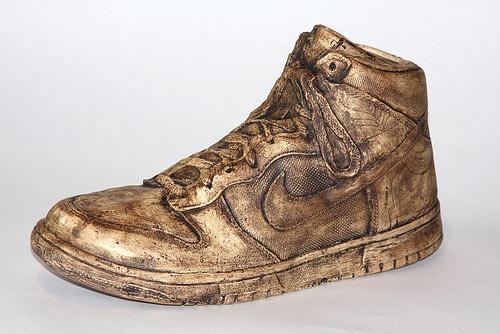 Ceramic Sneakers by Kang S. Lee
