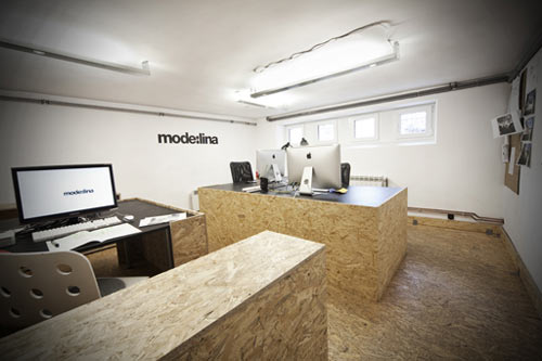 OSB Office in Poland by mode:lina in interior design architecture  Category