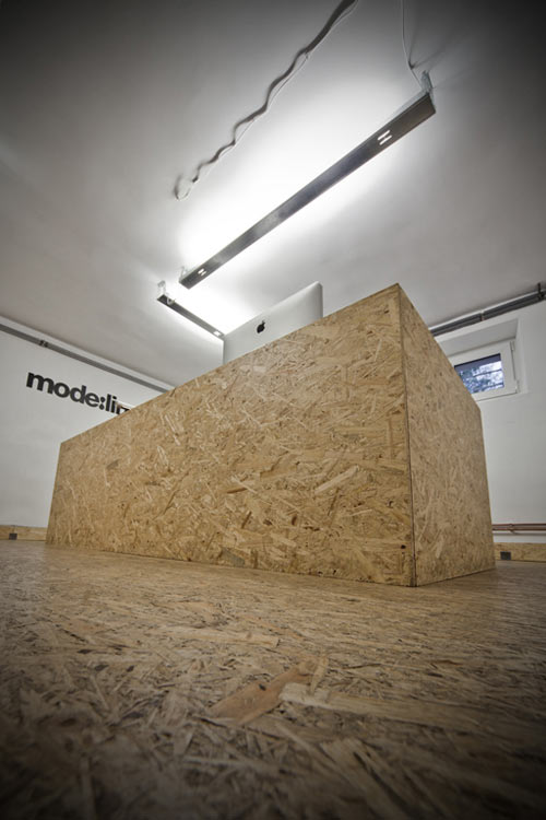 Osb office in poland by mode lina design milk for Office 2010 design mode