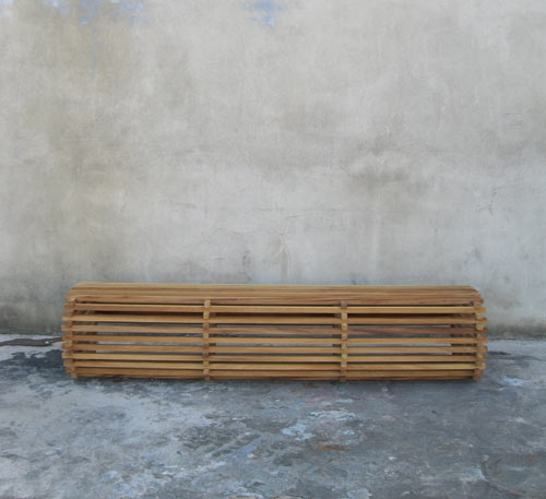 Sticker Bench by Richard Shed