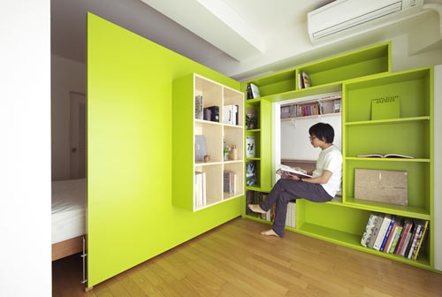 Switch Apartment in Japan by Yuko Shibata in main interior design architecture  Category