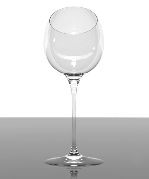 Tipsy Wine Testing Glass by Alvaro Uribe in main home furnishings  Category