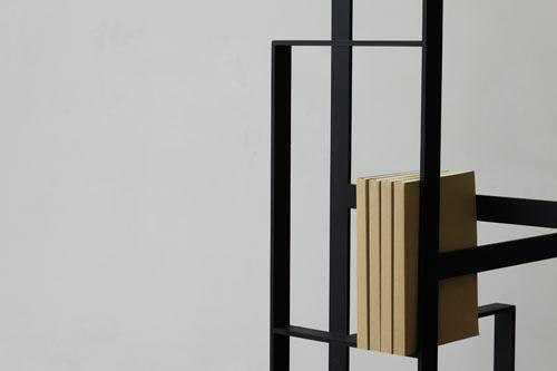 Weave Bookshelf by Chicako Ibaraki