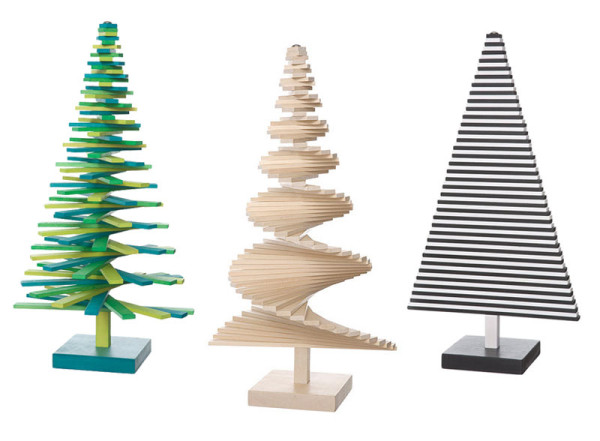 Modern Christmas Trees - Design Milk