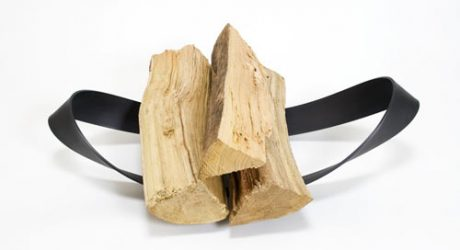Firewood Holders by Iron Design Company