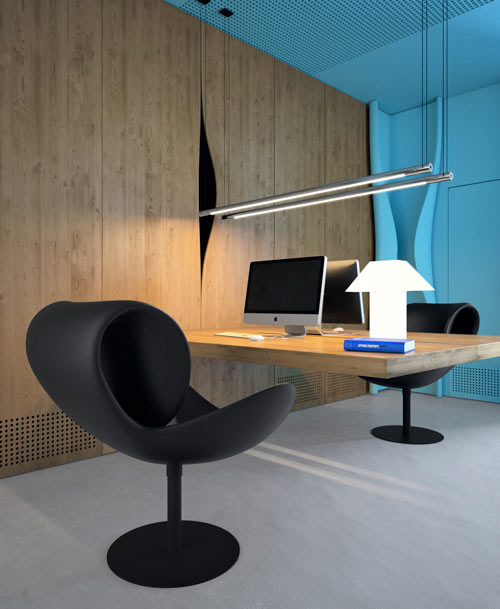 Azure Office by Sergey Makhno and Butenko Vasiliy in main interior design home furnishings  Category
