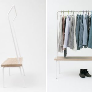 Bench Rack by Vik & Fougere