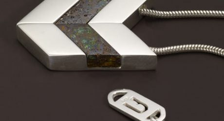 Chevron Necklace from Urban Boulder