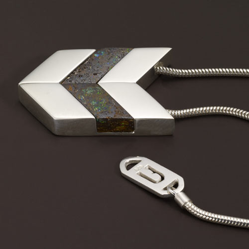 Chevron Necklace from Urban Boulder in style fashion  Category