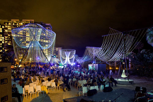 Exhale Pavilion by Phu Hoang Office and Rachely Rotem Studio