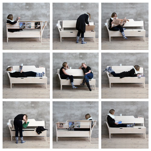 Kitchen Sofa - Design Milk