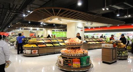 Lotus Fresh Supermarket in Shanghai by HEAD Architecture and Design