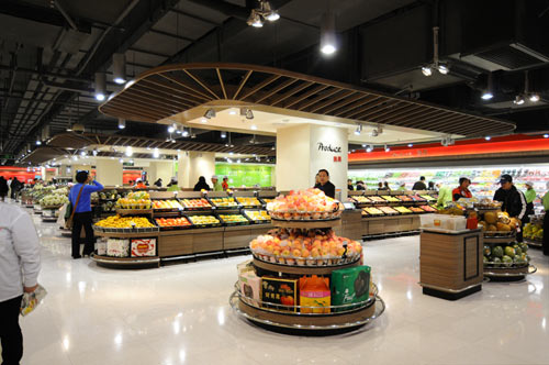 Lotus Fresh Supermarket in Shanghai by HEAD Architecture and Design in architecture  Category