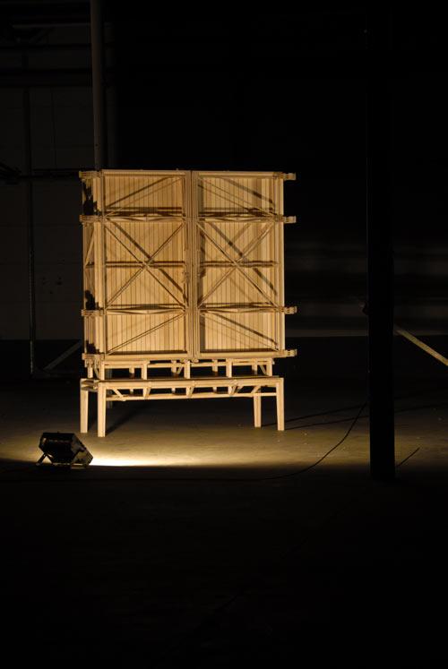 Construction Cabinet by Paul Heijnen