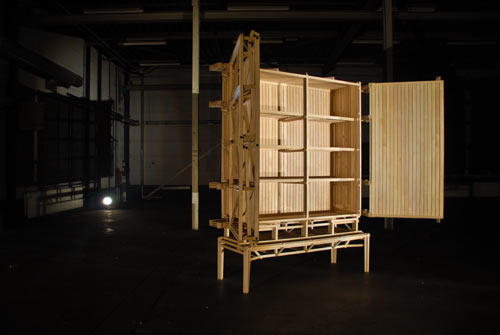 Construction Cabinet by Paul Heijnen in main home furnishings  Category