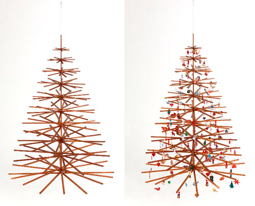 Christmas Modern modern christmas trees - design milk