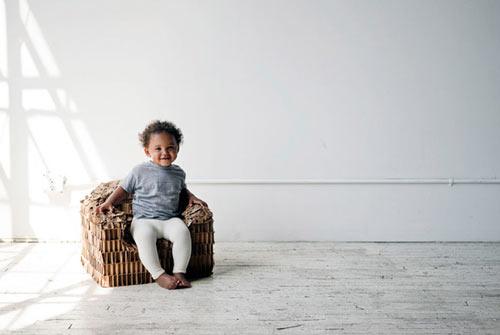 Rip + Tatter Kid's Chair