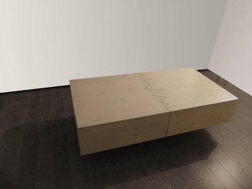 San Andreas Coffee Table by Ricardo Garza Marcos in home furnishings  Category