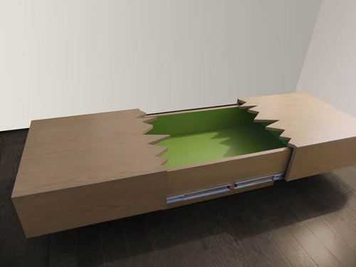 San Andreas Coffee Table by Ricardo Garza Marcos in main home furnishings  Category