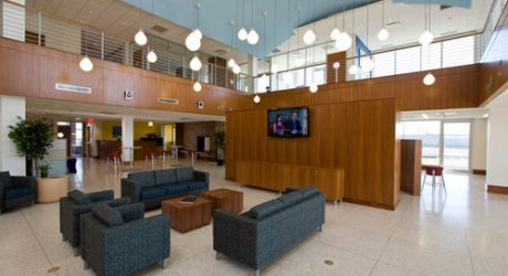 Seafarers' Center in Port Newark by Clawson Architects