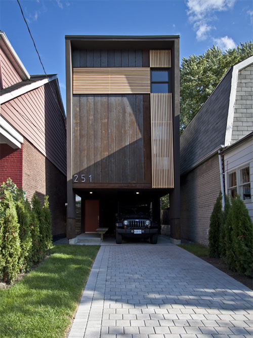 Shaft House in Canada by Atelier rzlbd in main architecture  Category