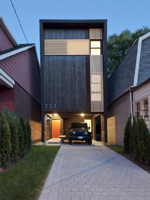 Shaft House in Canada by Atelier rzlbd