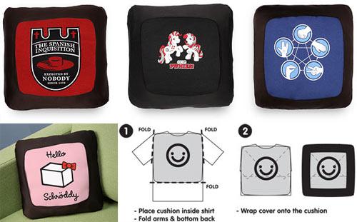 Shirt to Pillow Transformer