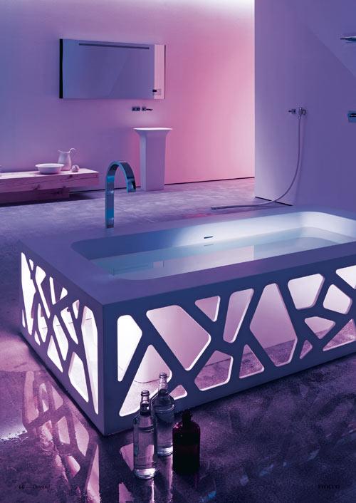Origami Bathtub by Stocco