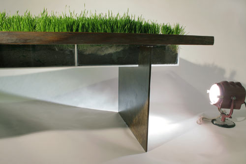 Planter Table by Emily Wettstein in main home furnishings  Category