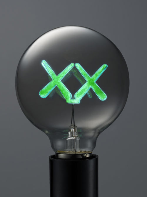 Limited Edition Light Bulbs by KAWS
