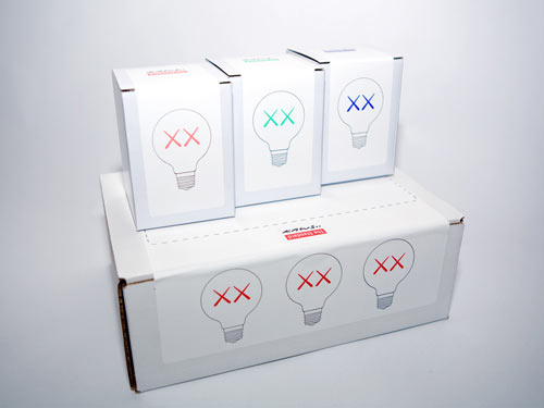 Limited Edition Light Bulbs by KAWS in technology main home furnishings art  Category