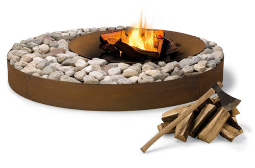 Aromatic Outdoor Fireplaces in interior design  Category