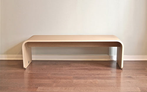 The Wood BOTANIST™ Bench in main home furnishings  Category