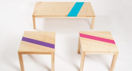 Caramelo Tables by Moises Hernandez
