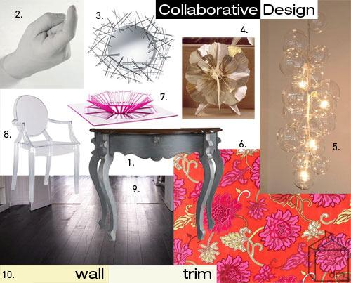 Collaborative Design: Baker Venetian Hall Table