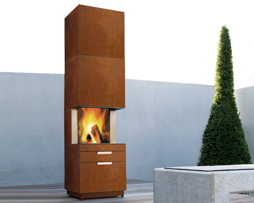 Aromatic Outdoor Fireplaces in main interior design  Category