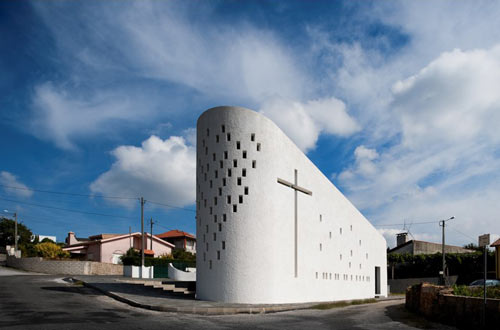 Chapel in St. Maria da Feira in Portugal by e|348 Arquitectura in architecture  Category