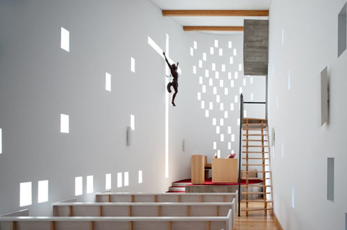 Chapel in St. Maria da Feira in Portugal by e|348 Arquitectura in main architecture  Category