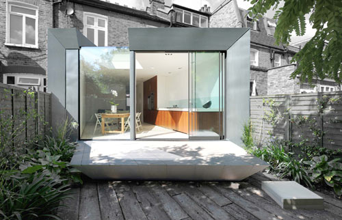 Faceted House 1 in London by Paul McAneary Architects