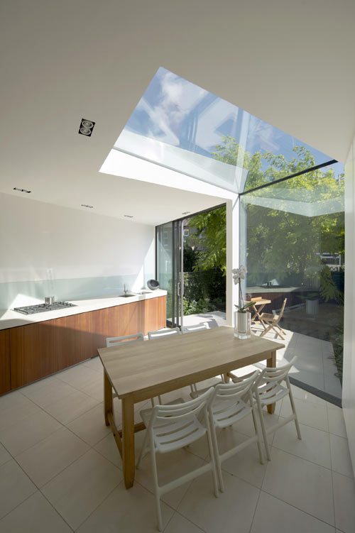 Faceted House 1 in London by Paul McAneary Architects in architecture  Category