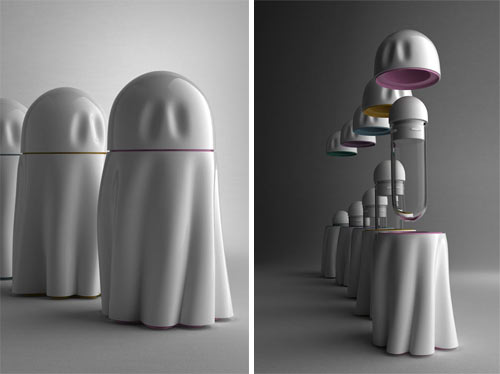 Ghost Urns in technology style fashion main home furnishings  Category