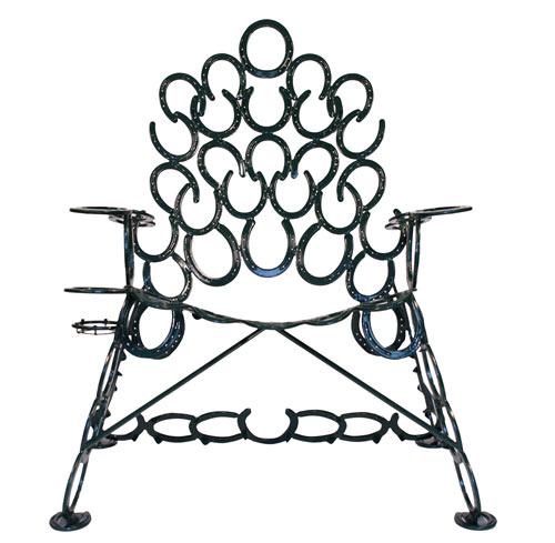 Reclaimed Horseshoe Chairs
