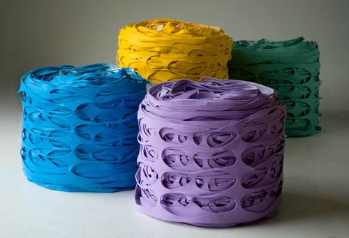 Latex Roll Pouf by 13 Ricrea
