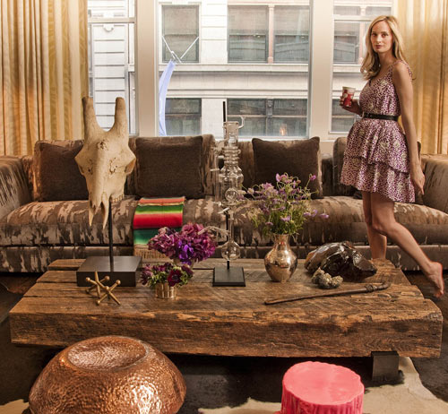 Inside Lauren Santo Domingo's Apartment
