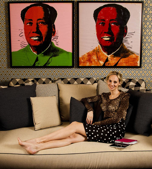 Inside Lauren Santo Domingos Apartment in interior design  Category