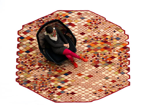 New Rug Collection by Ronan and Erwan Bouroullec for nanimarquina