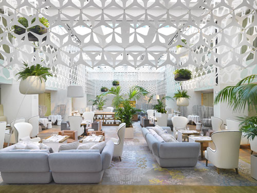 Mandarin Oriental Hotel in Barcelona in interior design  Category