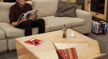 Nook Coffee Table by David Pickett