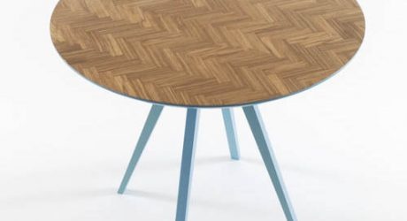 Parquet Table by Something From Us