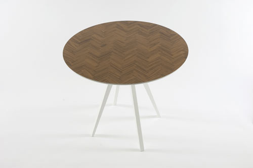 Parquet Table by Something From Us in main home furnishings  Category